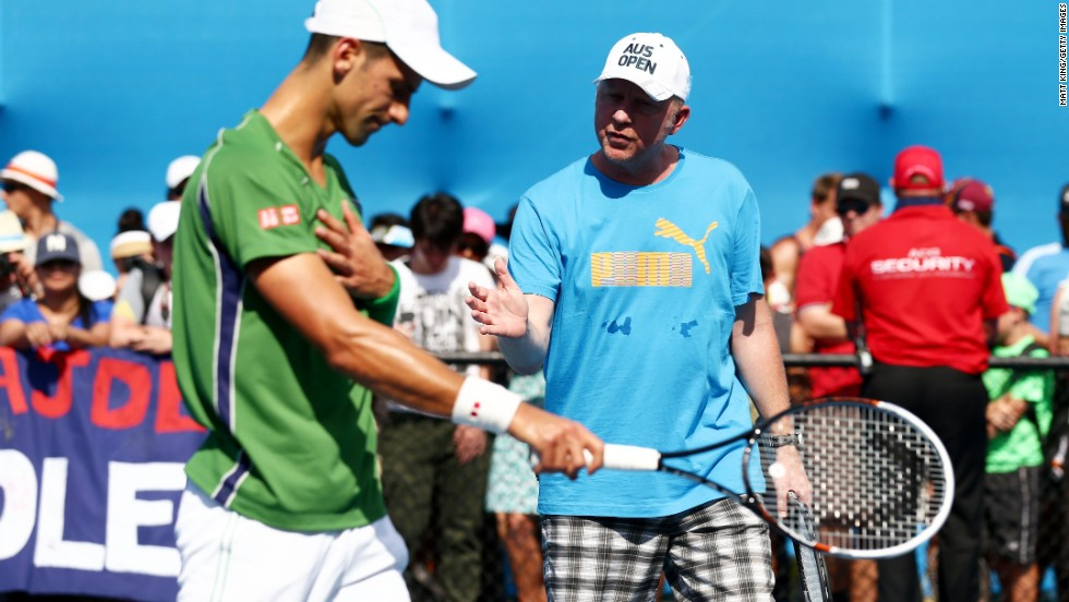 Djokovic and Becker will now regroup. The second grand slam of the season is the French Open between May 25 and June 8.