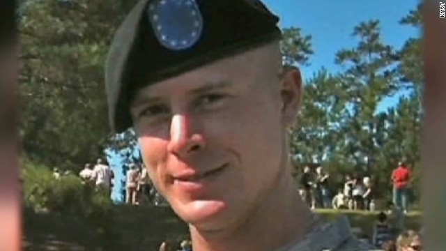 Emotional homecoming for Bergdahl family