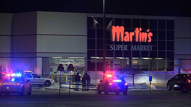 Gunman opens fire in grocery store