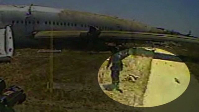 Video shows girl's body on runway