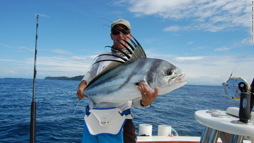 Hooking something huge is a big draw for anglers in Panama.
