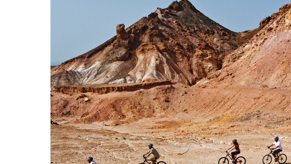 Mountain biking is another way to experience the animals and their territory.