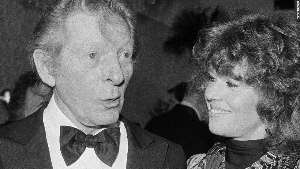 Danny Kaye (1982), with Jane Fonda