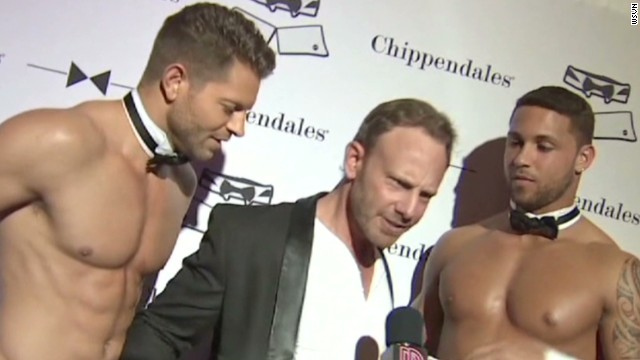 '90210' actor has new Chippendales gig