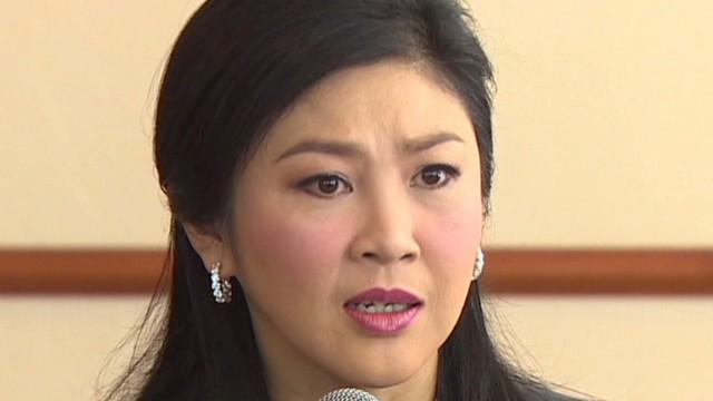 Thai PM talks amid unrest