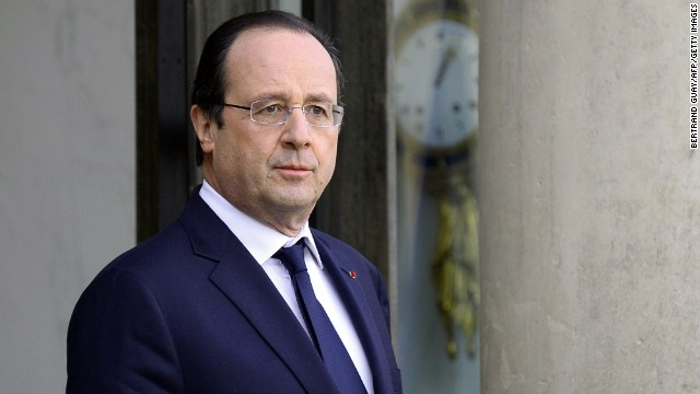 French view of Hollande's private life