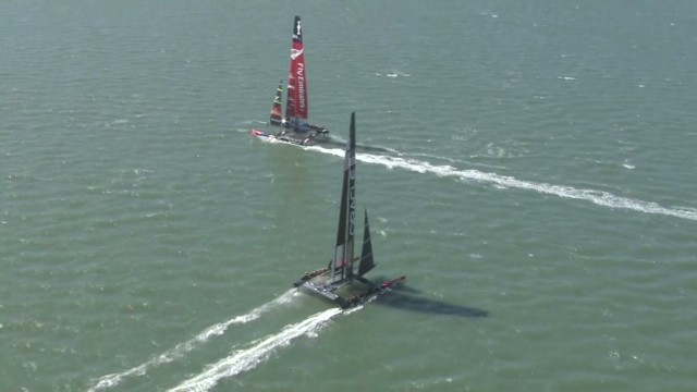 What does is take to win the America's Cup?