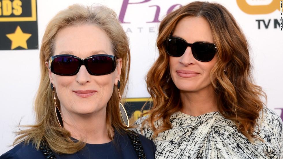 Meryl Streep and Julia Roberts