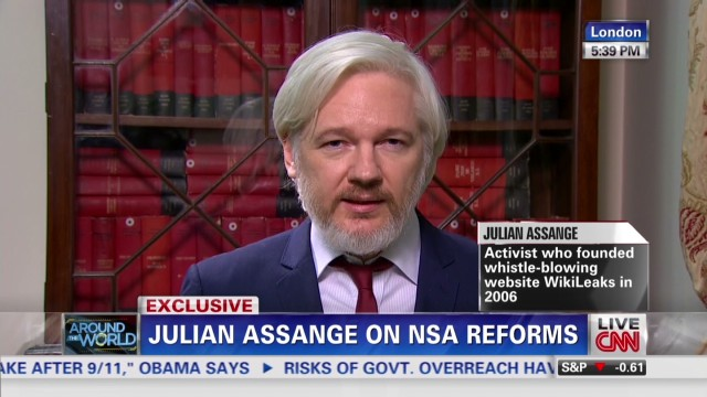 Assange: Leakers forced NSA reforms
