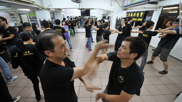 Wing Chun: instruction from the pros, not YouTube.