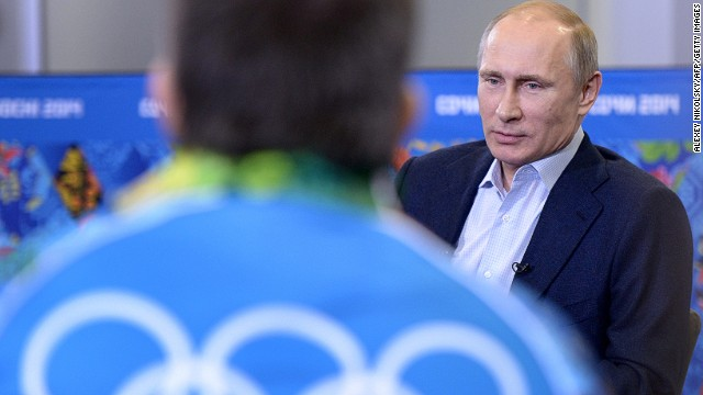 Putin: Gays 'can feel safe' at Sochi