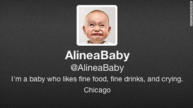 The crying baby got a fake Twitter account. Because of course it did.