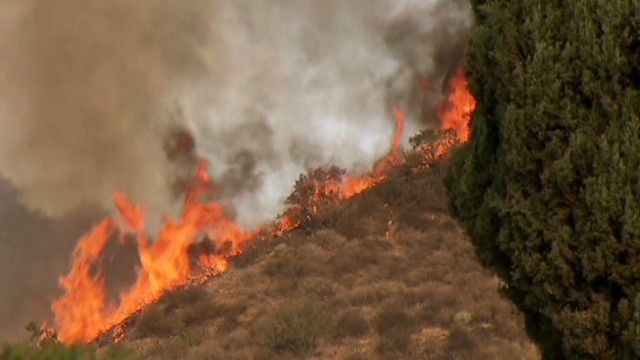 Wildfire threat looms in severe drought