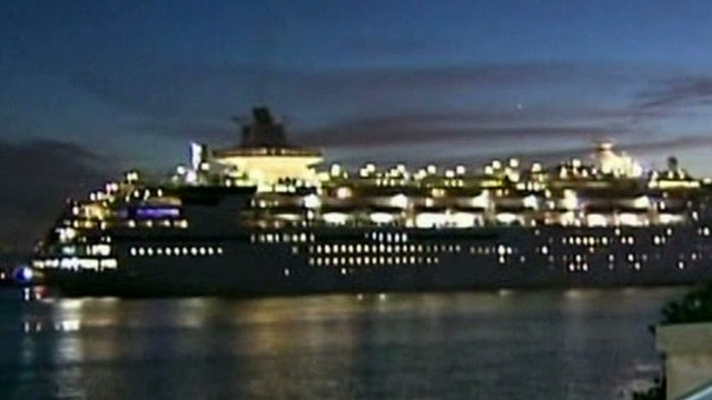 Cruise passengers fall ill