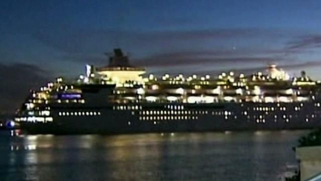 Cruise passengers fall ill