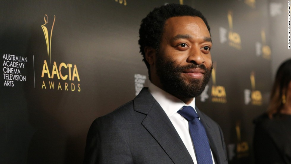 Chiwetel Ejiofor January 2014