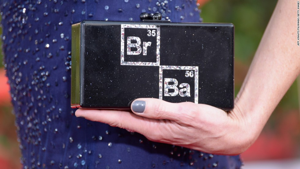 "Anna Gunn's ""Breaking Bad"" clutch"