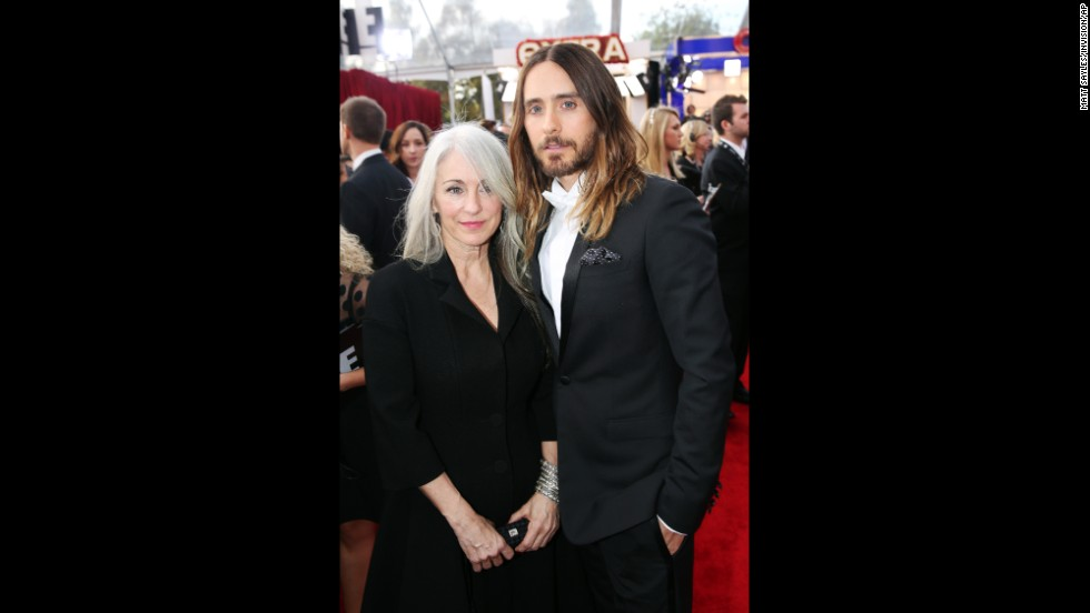 Jared Leto and his mother, Constance Leto