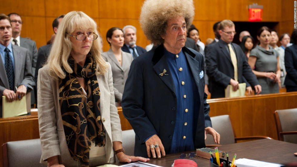 "<strong>Outstanding performance by a female actor in a television movie or miniseries:</strong> Helen Mirren, ""Phil Spector"""