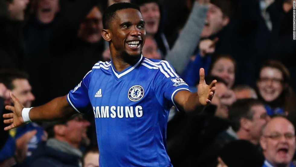 """Mourinho was recorded by Canal Plus in Switzerland last week as saying: """"The problem with Chelsea is we lack a scorer. I have one (Samuel Eto'o) but he's 32. Maybe 35, who knows?"""""""