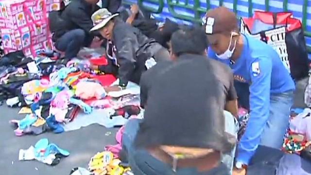 Thailand's political unrest turns violent