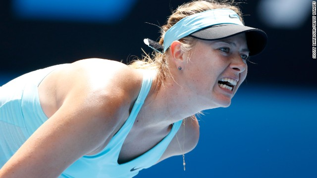 Russian third seed Maria Sharapova was a champion at Melbourne Park in 2008.