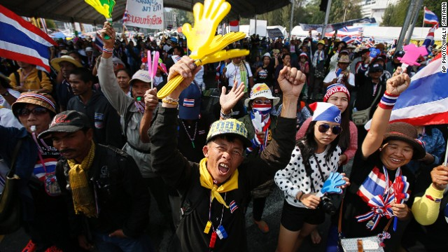 Thailand's political unrest turns violent