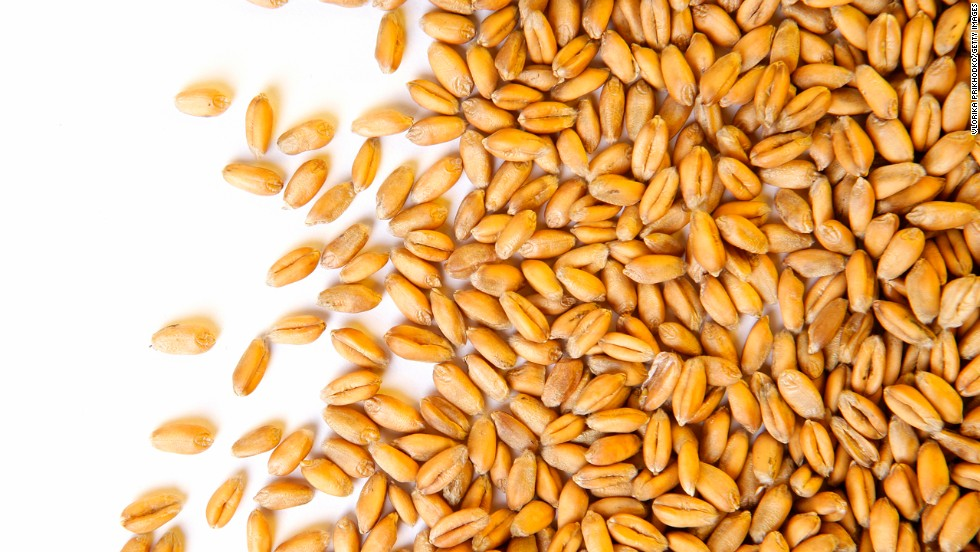"<strong>Wheat berries</strong><br /><br />Move over, quinoa. Wheat berries, which are whole-wheat kernels, contain one of the highest amounts of protein and fiber per serving of any grain -- 6 grams of protein and 6 grams of fiber. ""Protein triggers the hormone ghrelin to tell our brain that we are satisfied,"" Roberts explains, ""and fiber activates appetite-suppressing gut hormones.""<br /><strong><br />Feel even fuller:</strong> Do what celeb chef Ellie Krieger does: Toss wheat berries with apples, nuts and other diet-friendly foods to make a super tasty salad.<br /><br /><a href=""http://www.health.com/health/gallery/0,,20486997,00.html"" target=""_blank"">Health.com: How berries prevent aging</a>"