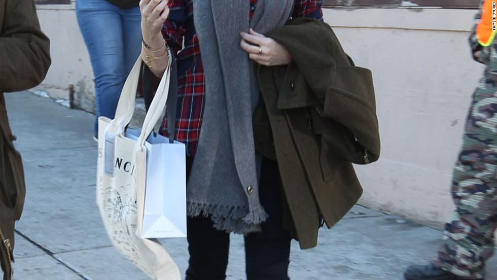 Anna Kendrick takes in the sights and the shopping during the Sundance Film Festival on January 18.