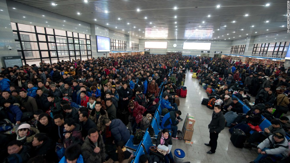 Each Lunar New Year, travel Armageddon strikes China. More than 3.6 billion estimated journeys will be made throughout the holiday period.