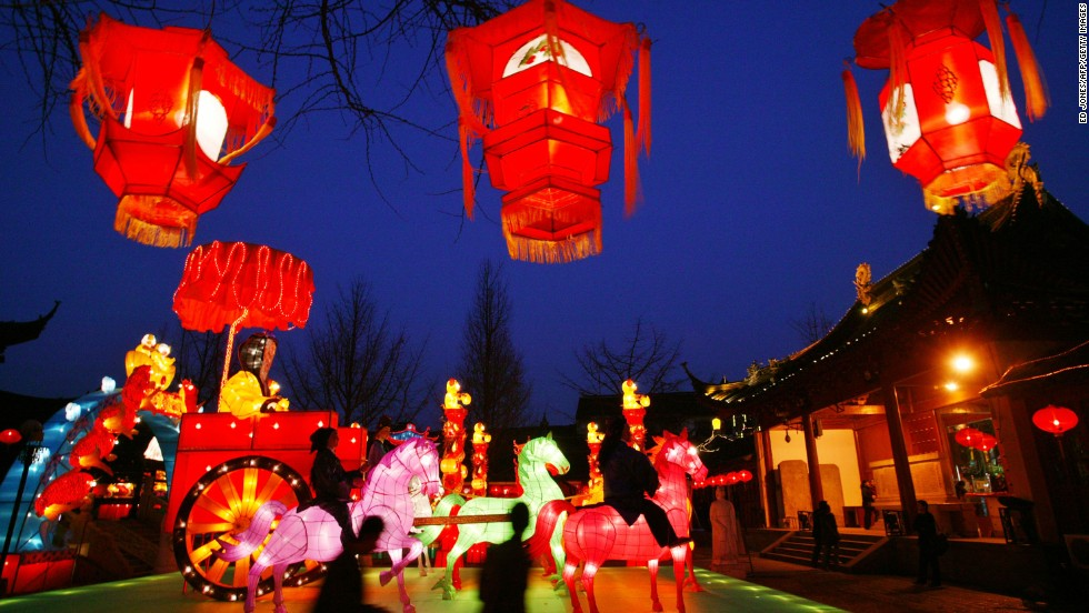 Starting January 31, 2014, holiday events such as lantern festivals, bazaars and horse races pack the lunar calendar. This year, the last day of celebrations falls on Valentine's Day.