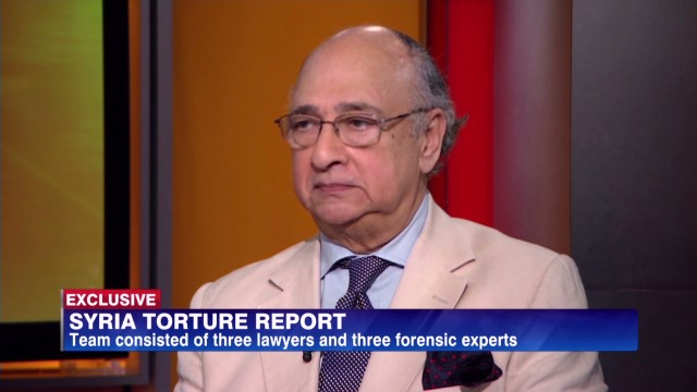 Analysing Syria's alleged torture report
