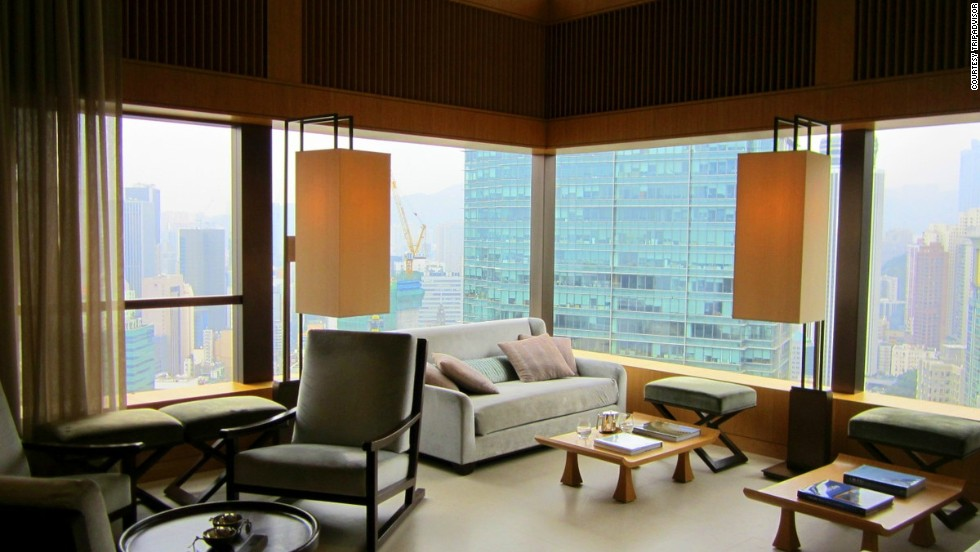 "No. 2: <a href=""http://www.upperhouse.com/en/default.aspx"" target=""_blank"">The Upper House</a> in Hong Kong"