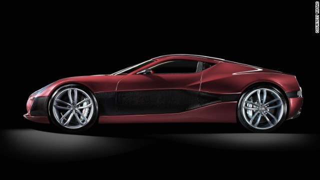 The world's fastest electric sports car