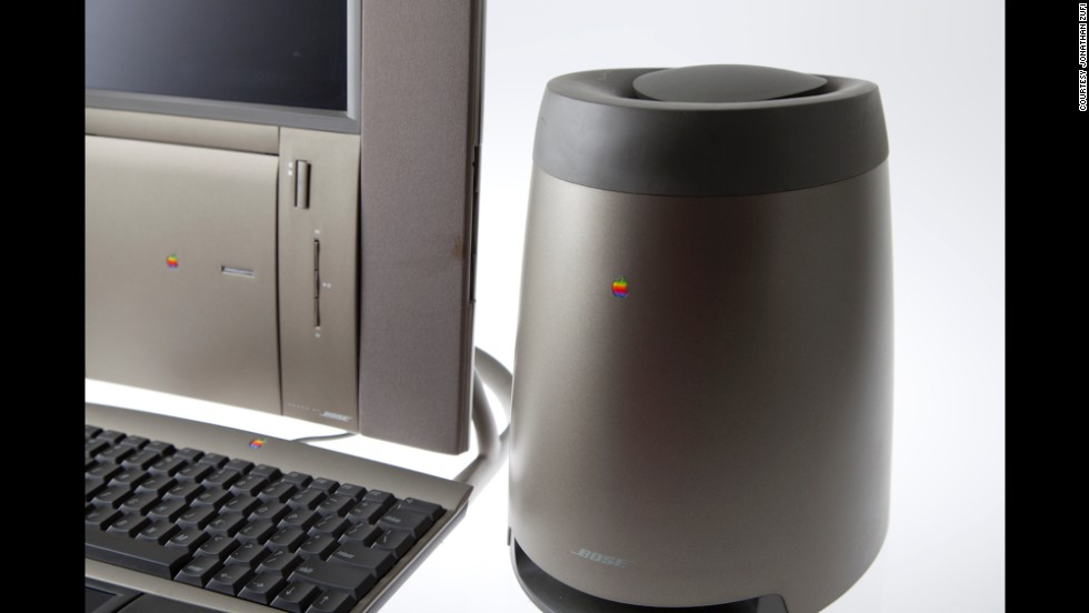 Sold to mark Apple's 20 years in existence, the Twentieth Anniversary Macintosh sold in 1996 for $7,495. It featured metallic gold-green paint and was one of the first computers to include an LCD display.