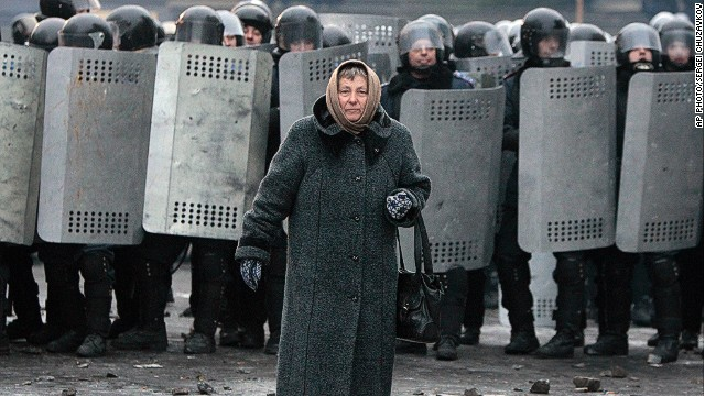 Clashes in Ukraine