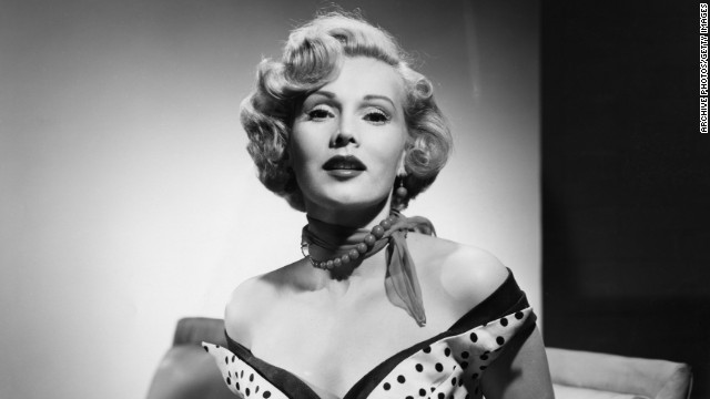 Hungarian-American actress Zsa Zsa Gabor, circa 1952. (Photo by Archive Photos/Getty Images)
