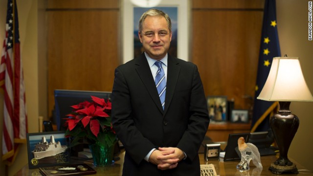 "Alaska Gov. Sean Parnell calls rape the state's ""resident evil"" and an ""epidemic."""