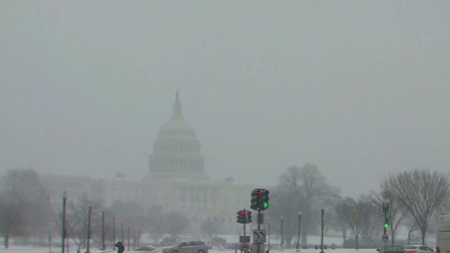 Winter blast pummeling East Coast