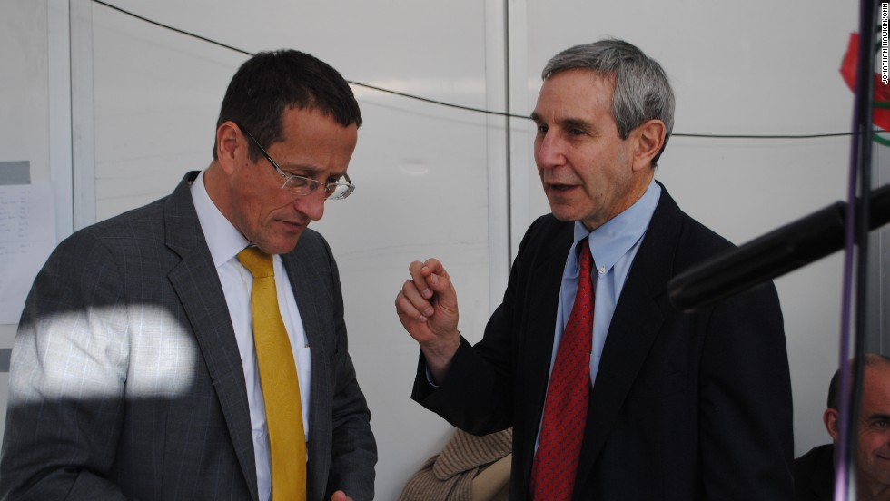Richard Edelman chats to Richard Quest ahead of his interview on CNN's World Business Today at Davos.""