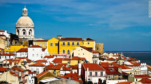 Lisbon: color equals cool.