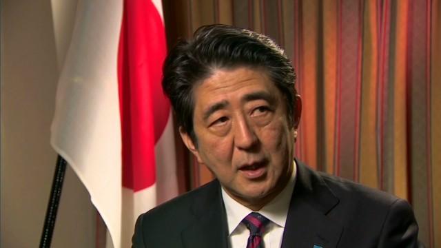 """Shinzo Abe on dolphin """"fishing"""""""