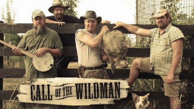 """Screen grab from """"Call of the Wildman"""" show on Animal Planet."""