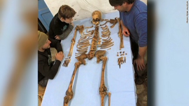 Mystery pharoah's bones discovered
