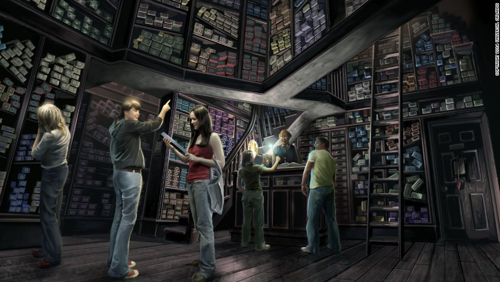 Ollivanders will sell wands to devoted Harry Potter fans.