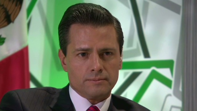 Mexican president talks with CNN
