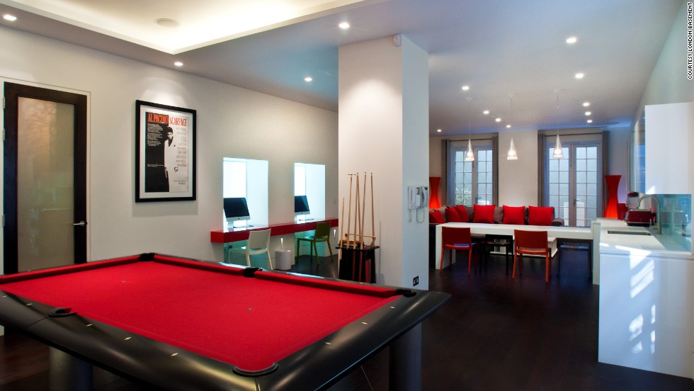 London 39 s amazing luxury basements for Luxury basements