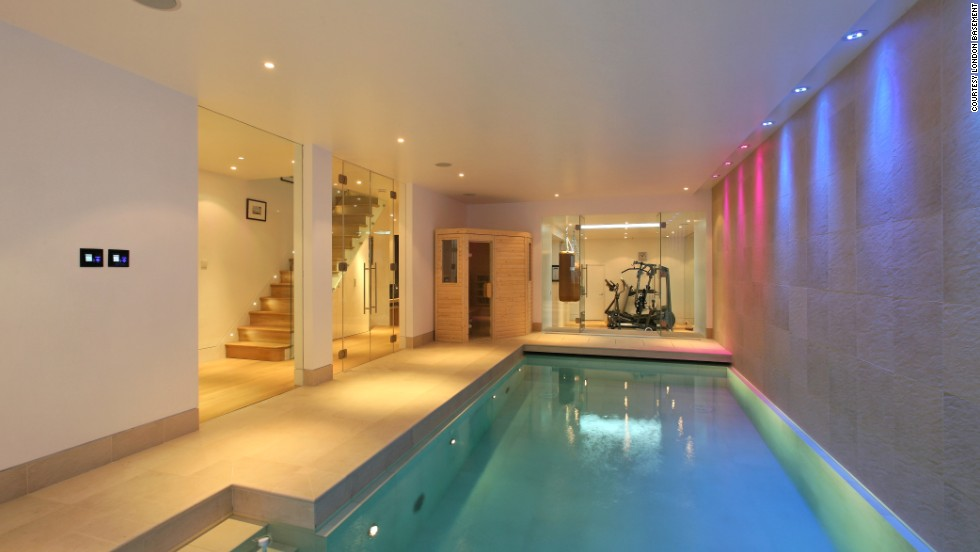 London 39 s amazing luxury basements for Building a sauna in the basement