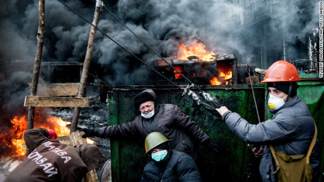 Temporary truce called in Ukraine clashes