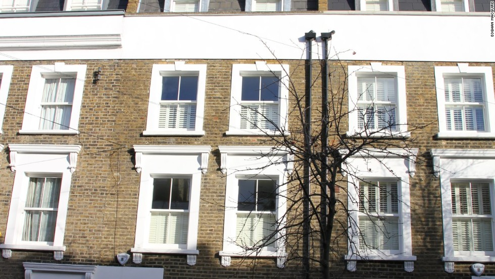 On the outside, this house in a quiet Fulham street seems to be exactly like it's neighbors.
